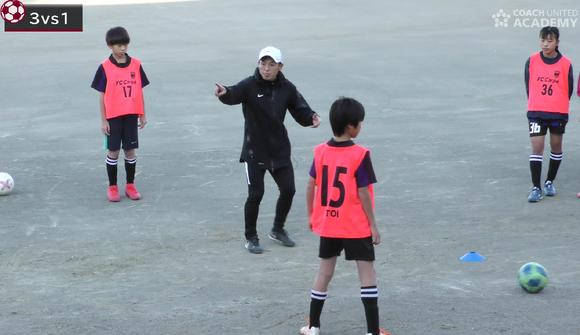 短い時間で「止める」「蹴る」を上達させるコツ/初めて指導するチームでサッカーの基本技術を教える練習法