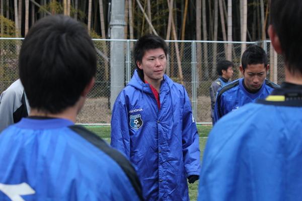 綾羽高校 ミーティングシーン