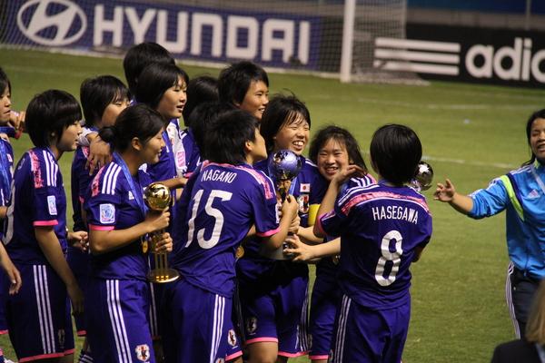 笑顔を絶やさなかったU-17女子日本代表リトルなでしこの選手たち