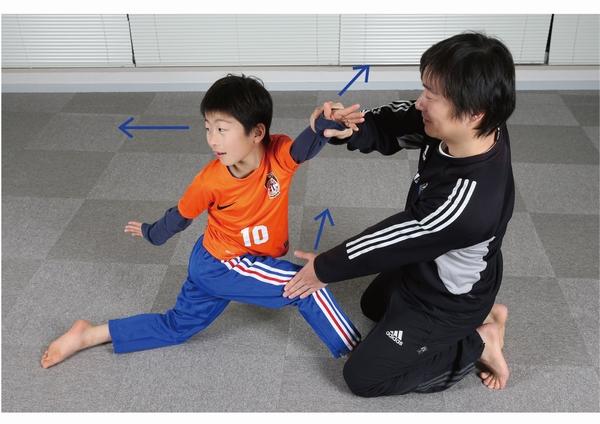 股関節と体幹のストレッチ
