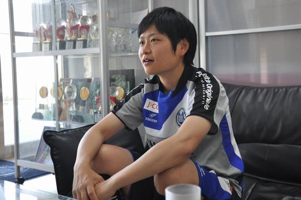 スフィーダ世田谷FC 千葉恵美マネージャー