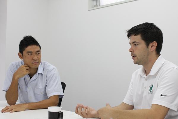 福田健二選手とポール氏