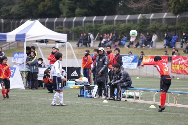 横浜F・マリノスプライマリー試合中