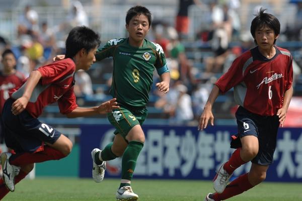 全日本少年サッカー大会に参加していた頃の高木選手