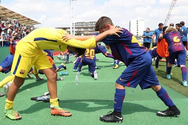 ジュニア世代の体幹トレーニングは必要なし!? 元スペイン名門のトレーナーに聞く、強く速くなる身体の作り方