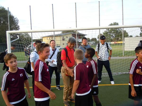 ドイツの少年サッカー