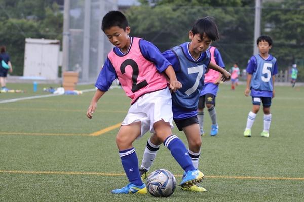 中学年代のサッカースキル