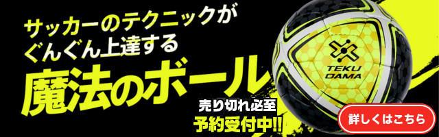 ドリブル・リフティングトレーニング用サッカーボール テクダマ