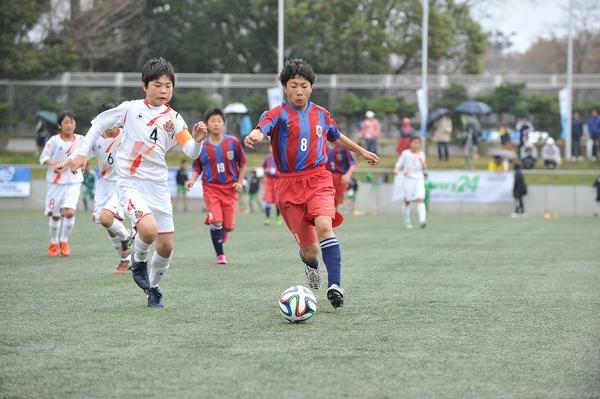 エスプリ長岡FCvs名古屋グランパスU12