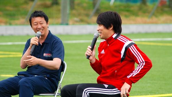 幸野建一代表と中西哲生さん