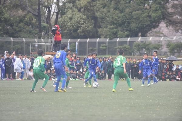 横河武蔵野フットボールクラブジュニアvs東京ヴェルディジュニア