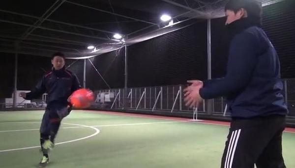 最後までボールを見る